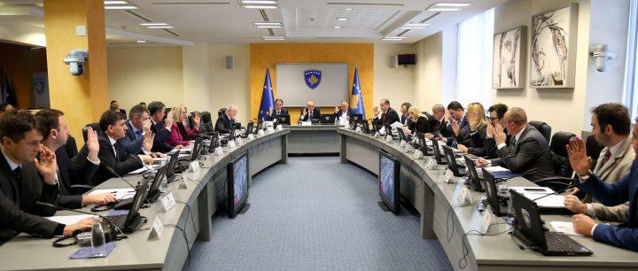Pamja nga një takim i mëhershëm i Qeverisë së Kosovës - Foto: ZKM