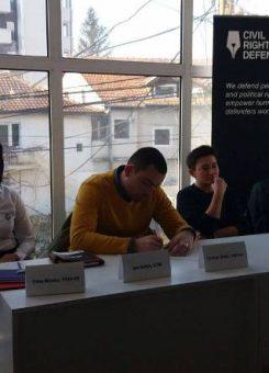 Tryeza rreth aktivizimit për të drejtat e njeriut | Foto: KALLXO.com