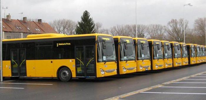 Autobusët që do të vijnë në Prishtinë | Foto: Facebook