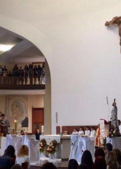 Kisha Katolike në Tiranë. Foto: Facebook
