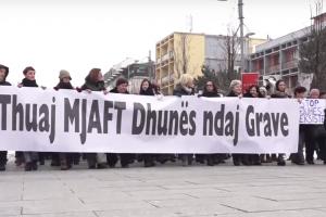 Marshi i grave në Prishtinë   Foto: KALLXO.com