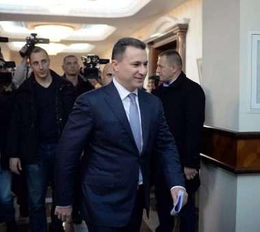 Nikolla Gruevski - Foto: MIA