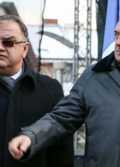Mladen Ivaniq dhe Milorad Dodik, liderë të serbëve të Bosnjës