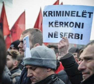 Protesta për Haradinajn | Foto: Atdhe Mulla