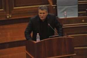 Zafir Berisha në Kuvend