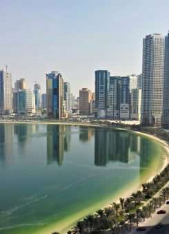 Qyteti Sharjah në Emiratet e Bashkuara Arabe. Foto: Mubarak Fahad/Flickr