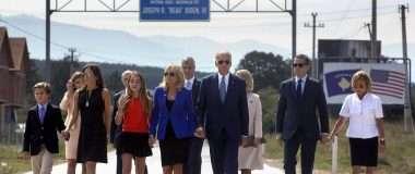 Familja Biden gjatë vizitës në Kosovë në vitin 2016. Foto: Shtëpia e Bardhë