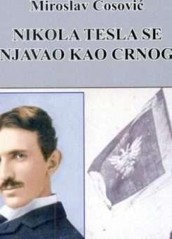 Ballina e librit të Miroslav Çosoviq për NikolaTeslën