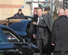 Bakir Izetbegoviq, anëtari boshnjak i presidencës së vendit mbërrin në takim. Foto: BIRN.