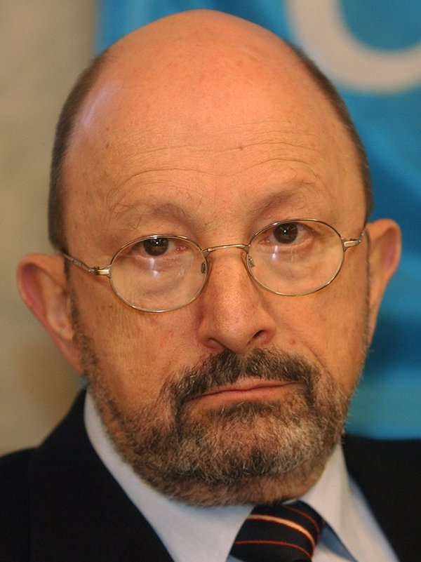 Stefan Trechsel, një gjykatës zviceran i cili ishte pjesë e gjykimit të liderit serb Slobodan Milosheviq në Tribunalin e Hagës.Foto kortezi: Stefan Trechsel.