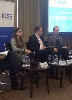 Pamje nga konferenca e QKSS-së - Foto: KALLXO.com