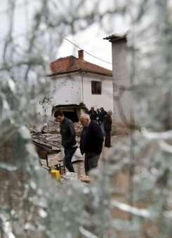 Pasojat e përleshjes së armatosur në Kumanovë në vitin 2015. Foto: AP/Visar Kryeziu
