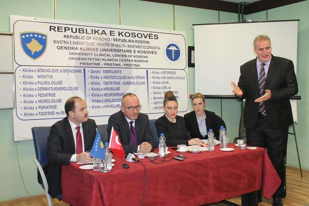 Hapet Java e Katërt e Shëndetësisë Kosovë-Turqi - Foto: QKUK