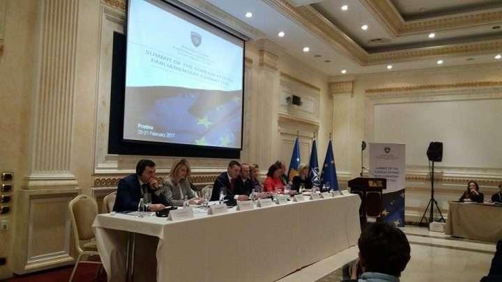 Pamje nga samiti i Komisioneve parlamentare të Punëve të Jashtme të vendeve të Evropës - Foto: KALLXO.com