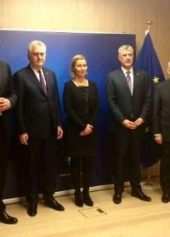 Nga takimi në Bruksel më 1 shkurt