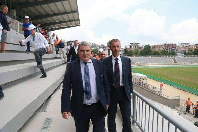 Stadiumi i Prishtinës Peng i Bllokadës Politike