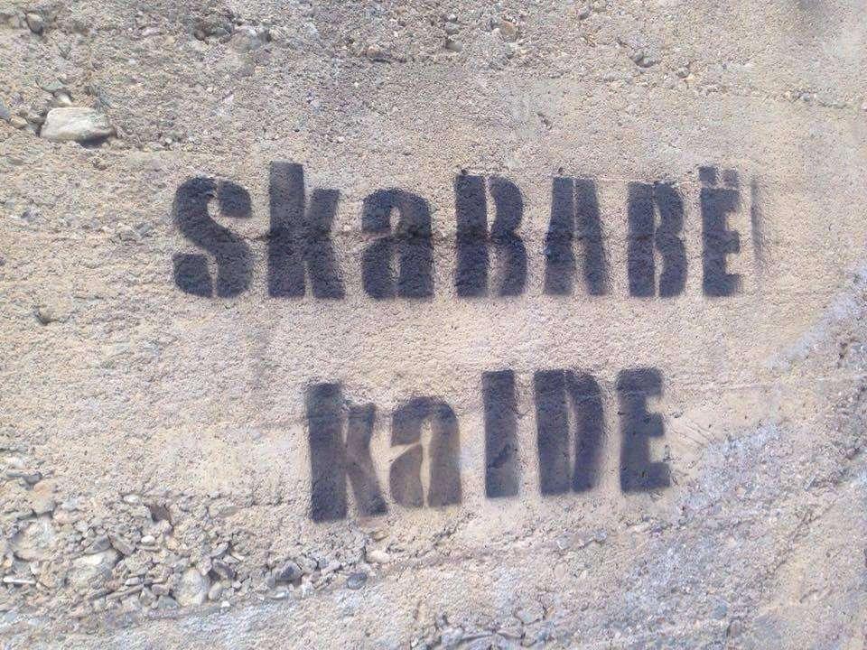 S ka Babë  ka Ide    Grafite të Reja në Prishtinë