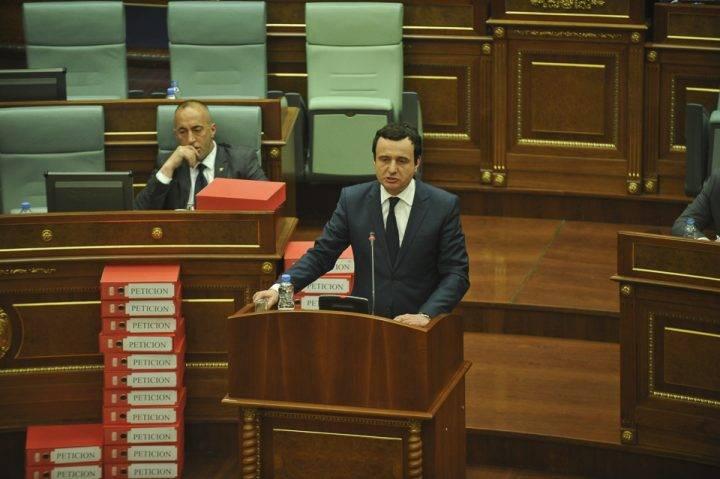 Kurti  Qeveria Haradinaj  qeveri terpijanësh