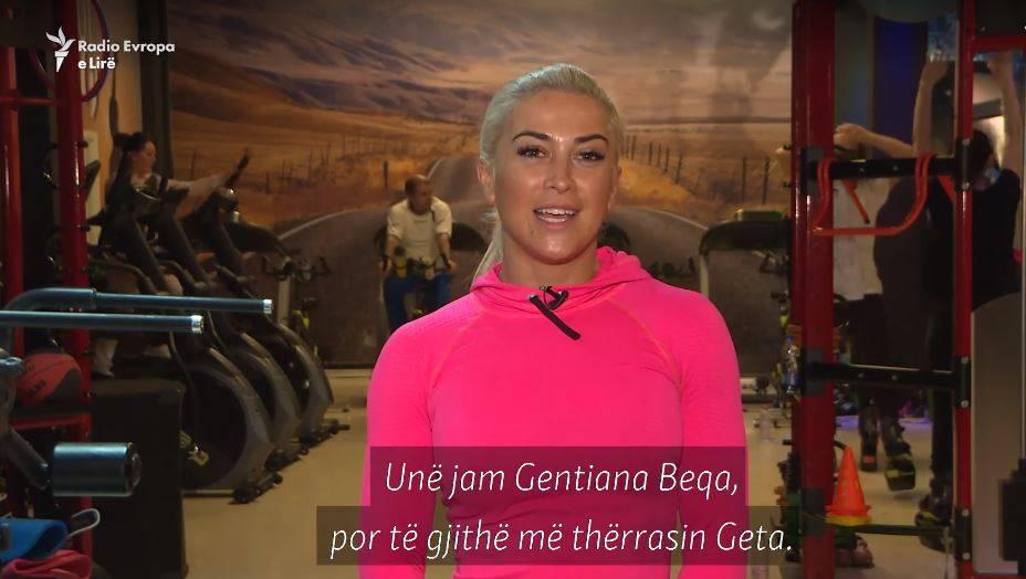 VIDEO   Një Ditë në Jetën e Gentiana Beqës