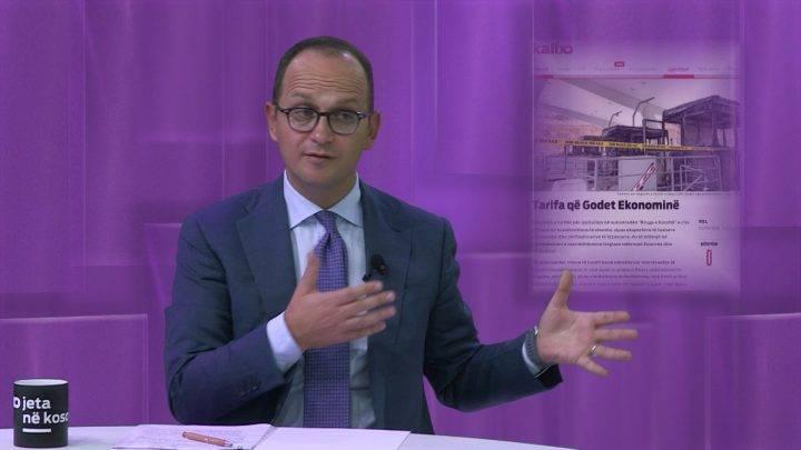 Ministri shqiptar komenton taksën e  Rrugës së Kombit