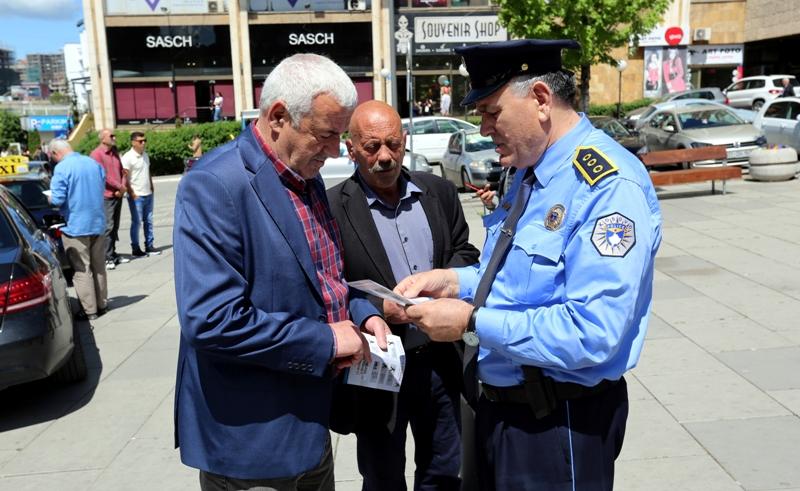 Policia nis fushatën  Të gjithë jemi këmbësorë