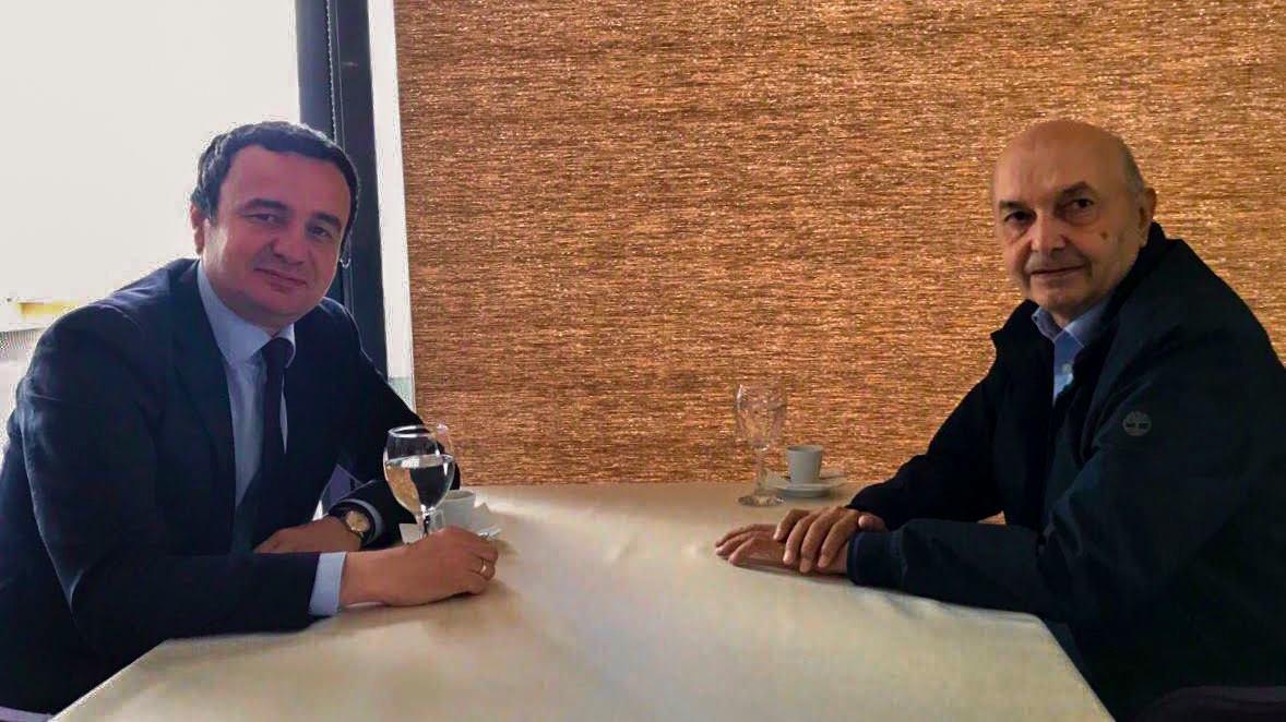 Kurti takon Isa Mustafën  përgatiten për rrëzimin e qeverisë Haradinaj
