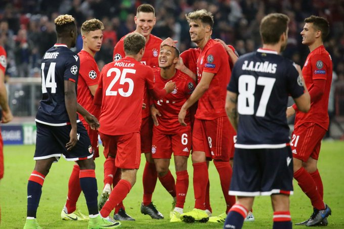 Bayern Munich fiton ndaj Crvena Zvezdas