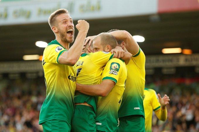 Norwich bën befasinë e javës  e mposht Manchester Cityn