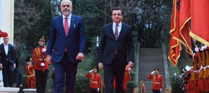 Edi Rama dhe Albin Kurti