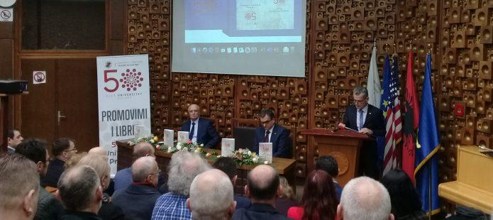 Promovohet libri për historikun e Universitetit të Prishtinës