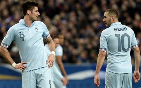 Benzema thotë se nuk mund të krahasohet me Giroud