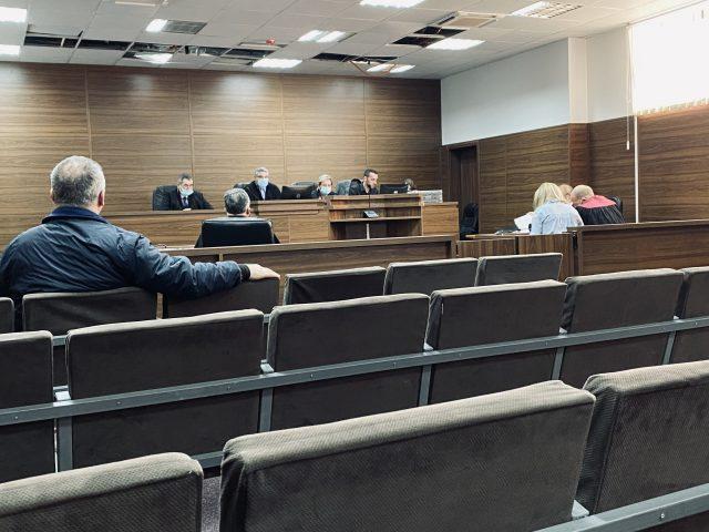 Seanca ndaj Afrim Matoshit etj, ne Gjykaten e Ferizajit