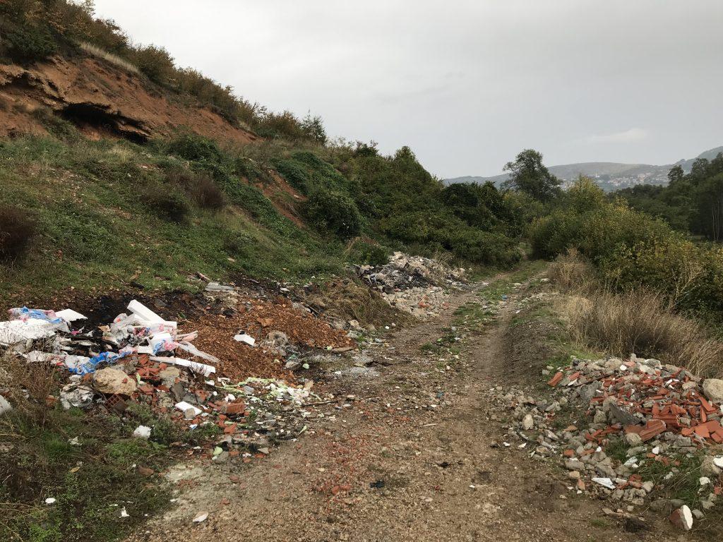 Mbeturina në Pllajnik
