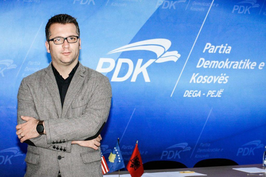 """Kryesues i Bordit në Ndërmarrjen Publike Lokale """"Ambienti"""", Arton Muhaxheri"""