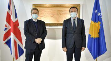 Albin Kurti dhe Nichola Abbott