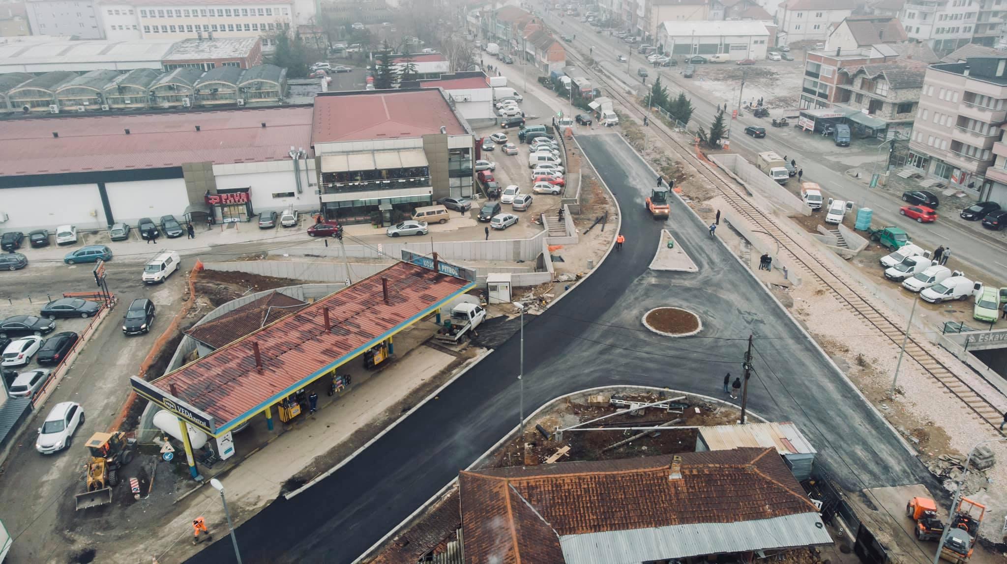 bashkimi qqytettit plus market - Komuna e Ferizajt rregullon disa rrugë
